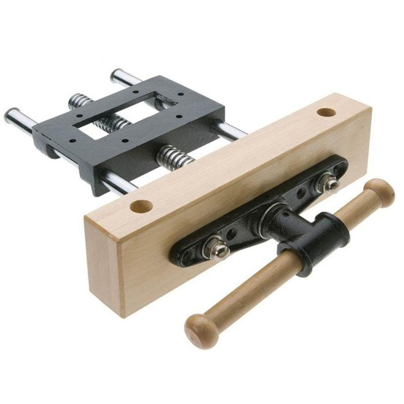7 Inch Professional Cabinet Maker's Front Vise Carpentry Workbench Vice Heavy Duty Wood Working Clamping Tool