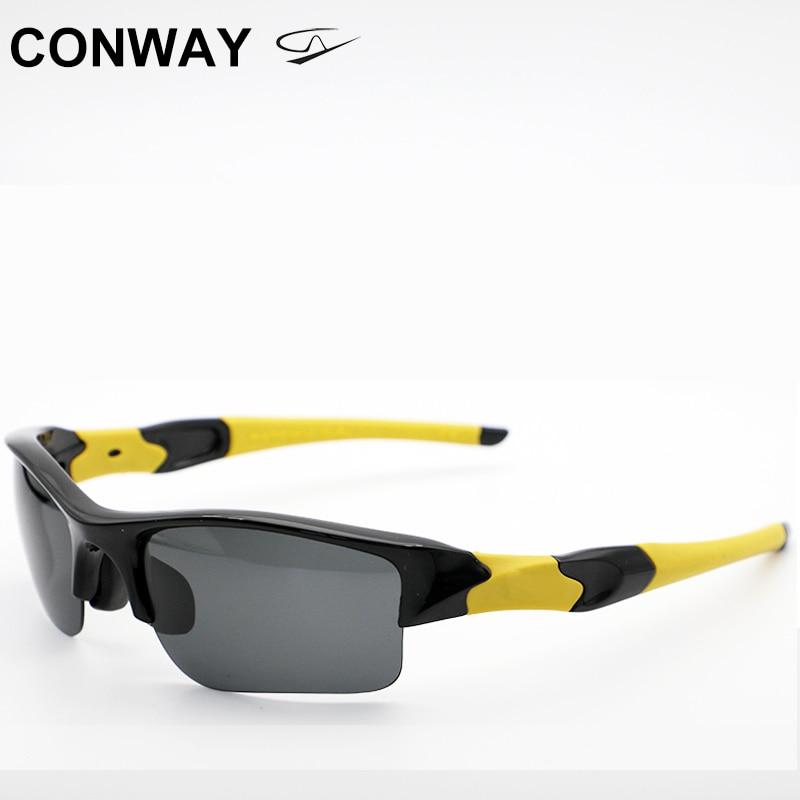 Conway Lightweight Sports Sunglasses TR90 Polarized Rectangular Sport Goggles for Men Women Running Outdoor Eyewear 03885