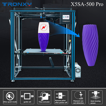New Arrival Tronxy X5SA-500 Pro Upgraded 3D Printer FDM Linear Guide Rail High Precision Large Size Ultra-quiet Auto Leveling