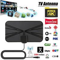 טלוויזיה אנטנה החדש Dropshipping סיטוני מגבר אות אנטנה Surf רדיוס מגבר טלוויזיה מקורה אנטנה HDTV דיגיטלי אנטנה 1080 מיילס טלוויזיה (1)