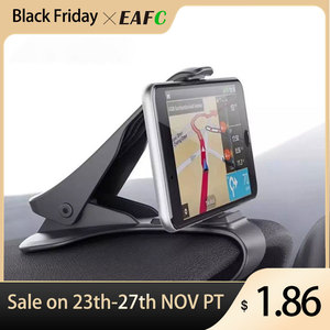 Universal Car Phone Holder GPS Navigation Dashboard Phone Holder For Mobile Phone Clip Fold Holder Mount Stand Bracket