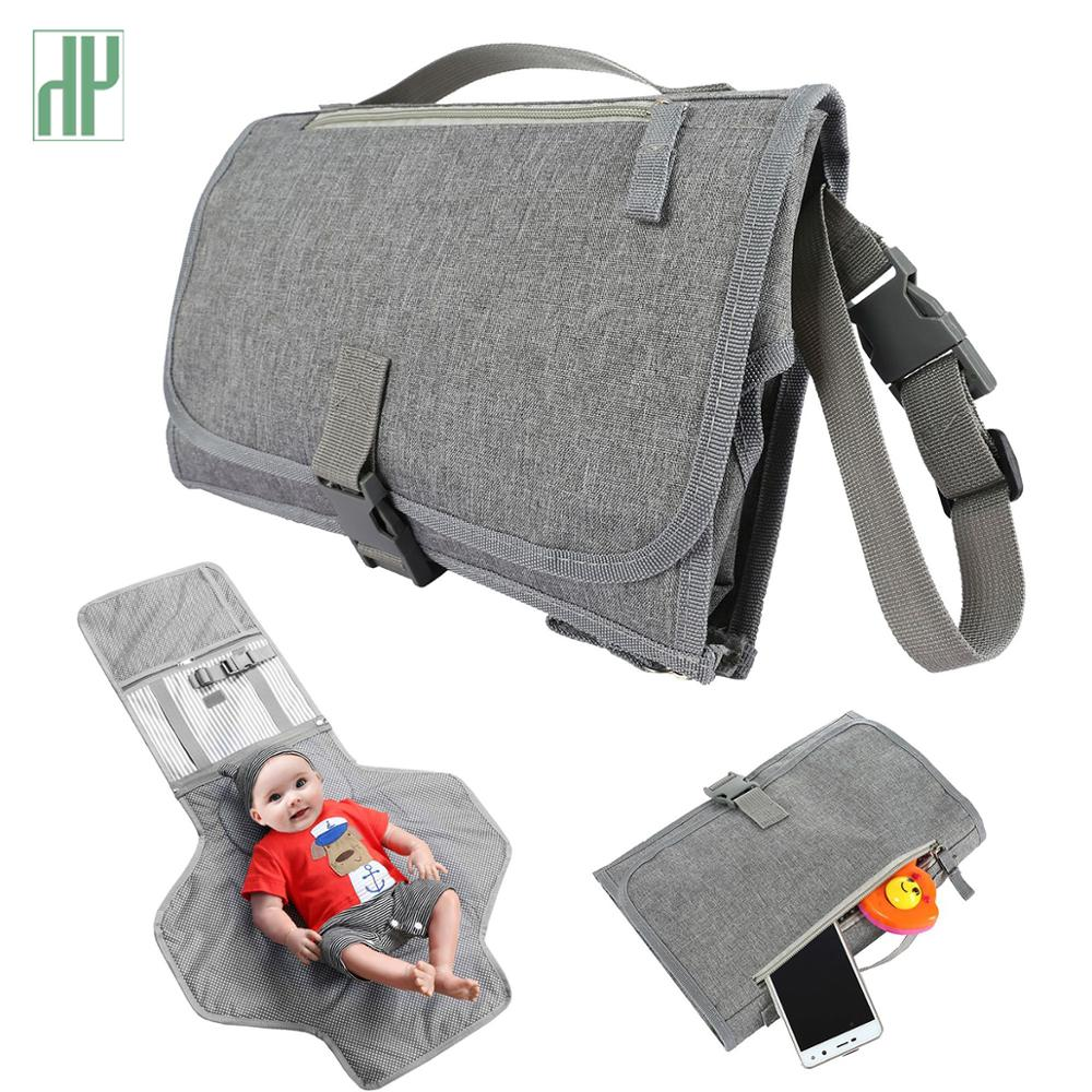 New Waterproof Changing Pad Diaper Travel Multifunction Portable Baby Diaper Cover Mat Clean Hand Folding Diaper Bag