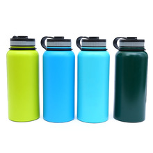 Outdoor mountaineering sports bottle travel pot gift mug stainless steel insulation