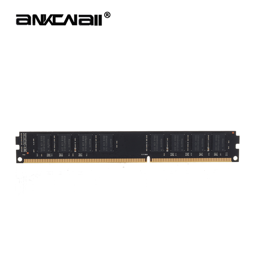 ANKOWALL DDR3 Desktop RAM with 2GB/4GB Capacity and 1866MHz/1600Mhz Memory Speed 12