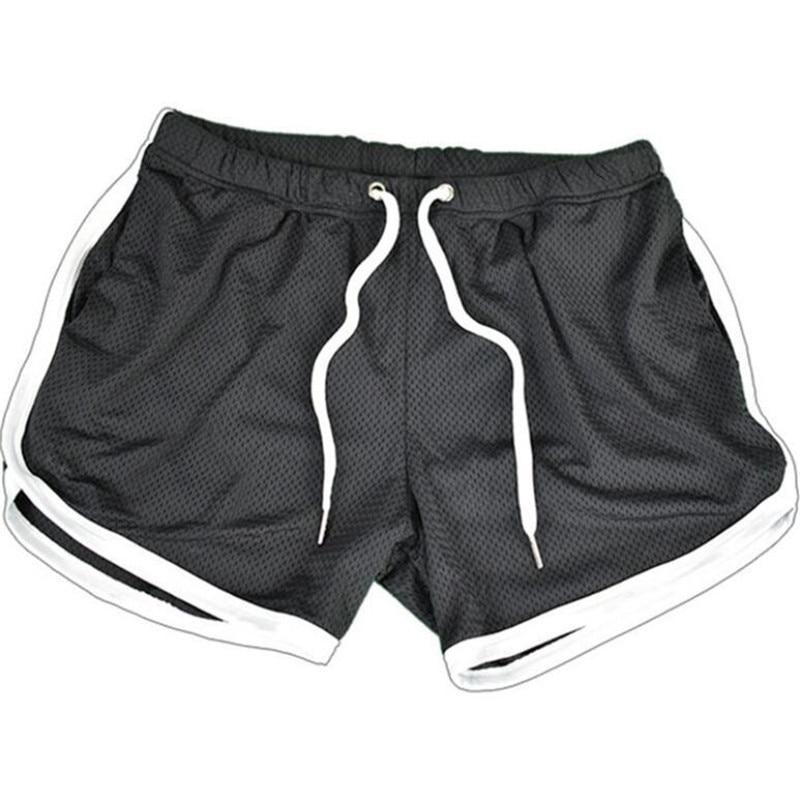 Running Shorts Men Gym Fitness Training GITF Quick Dry Beach Short Pants Male Summer Sports Workout Fitness Bottoms 15