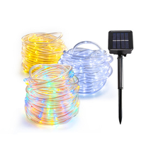 Solar Light Outdoors 8 Modes 7M/12M/22M LED Solar Lamp IP66 Waterproof 1200mAh Battery LED Outdoor Garden Solar Lights Fairy