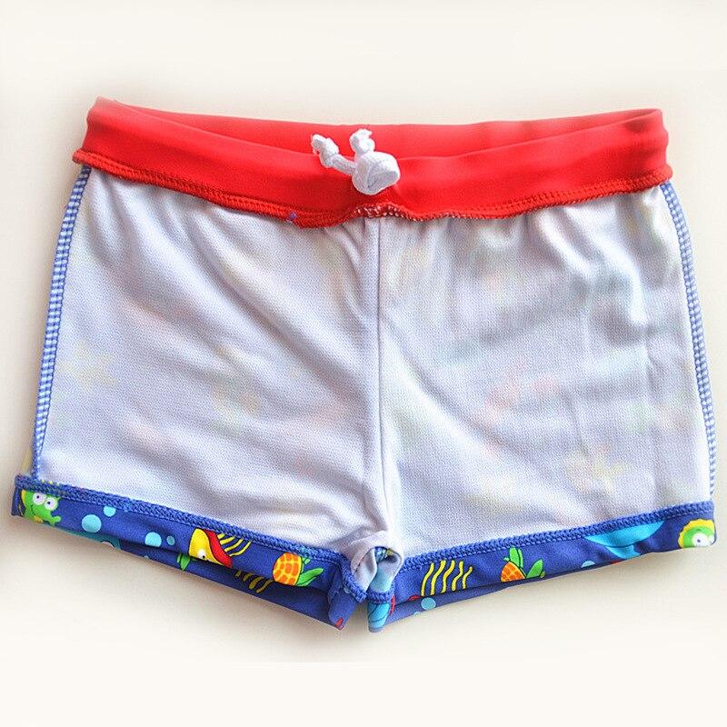 Orange Belt Bluish Purple Bottom Little Crab CHILDREN'S Swimming Trunks Cute Boy Infants Small Children Swimming AussieBum
