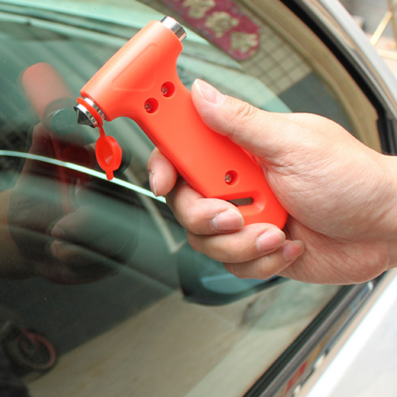 Escape Tool Car AUTO Life-Saving Hammer Belt Cutter Window Seat Safety Emergency PUO88