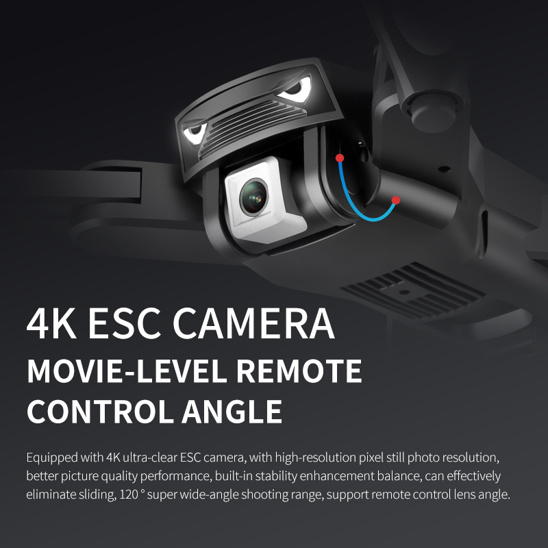 cheapest M20 RC Drone 4k with Camera GPS Altitude Hold HD 2 4G WIFI FPV Quadcopter Drone Helicopter Follow one key return Toys for Kids