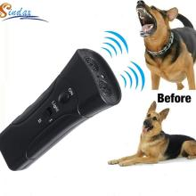 Pet Dog Repeller Whistle Anti Barking Stop Bark Training Device Trainer LED Ultrasonic 3 in 1 Anti Barking Dog Training