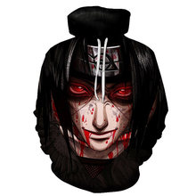 2019 Hot Anime Naruto Hoodies Mannen Vrouwen Winter truien 3D Hooded Oversized Sweatshirts Naruto 3D Hoodies Mannen Tops S-4XL(China)