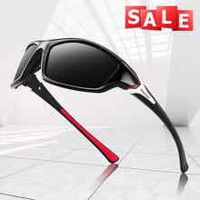 2021 vintage polarizado óculos de sol das mulheres dos homens ciclismo óculos de sol grande quadro retro moda pesca ao ar livre óculos de sol praia