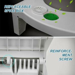 Image 5 - พับMulti Functionสตูลห้องน้ำแบบพกพาStepสำหรับห้องน้ำ 66CY