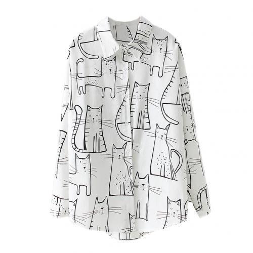 Wiosenna jesienna bluzka damska koszula plus rozmiar  if4OV