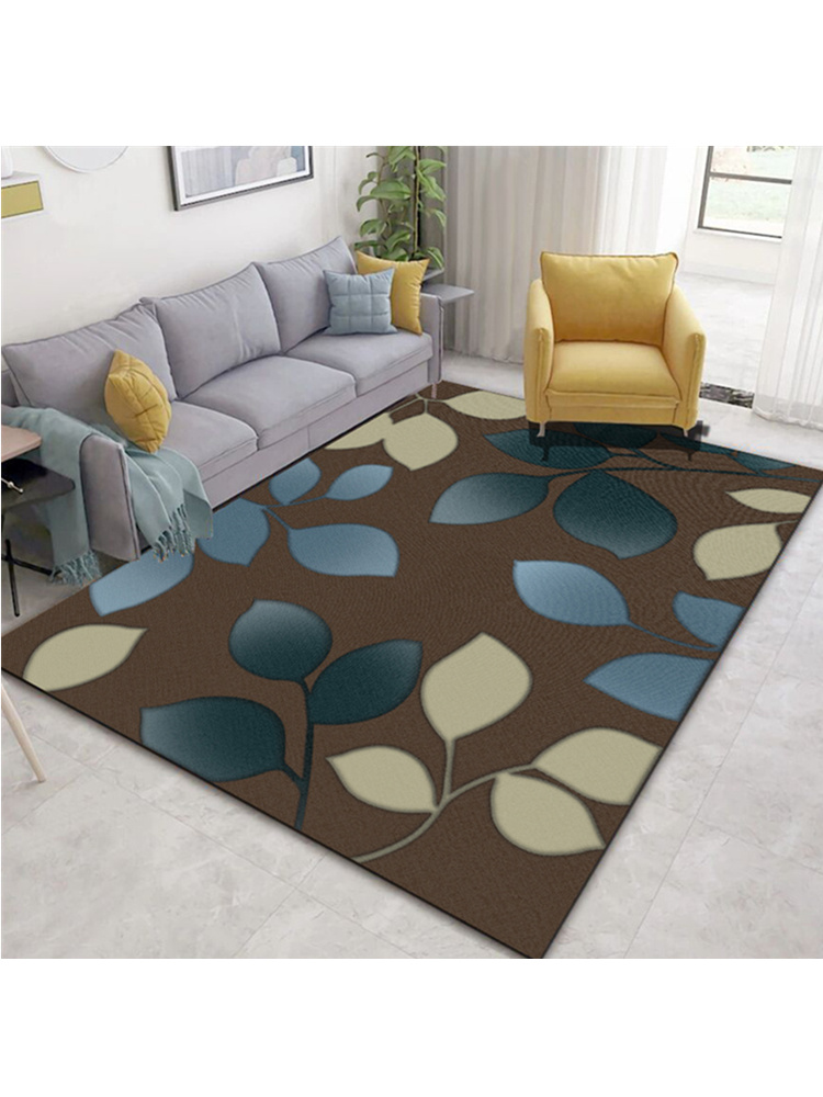 K2 Nordic Modern Abstract Living Room Carpet Plant Pattern Print Carpet Sofa Rugs Coffee Table Floor MatVintage Area Rugs|Carpet| |  - title=