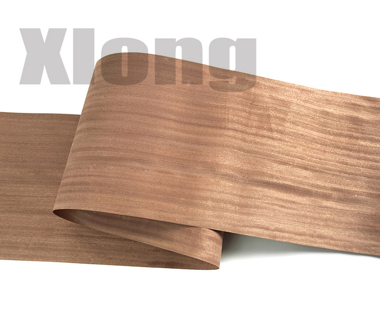 L:2.5Meters Width:400mm Thickness:0.5mm Imported Natural Sabili Wood Veneer Speaker Veneer