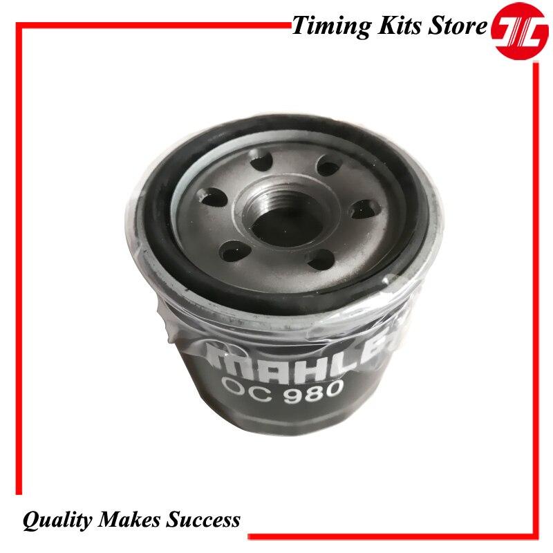 Оригинальный масляный фильтр OC980, элемент B6Y1-14-302 для автомобиля Haima FREEMA 1,8/family 1,6/Mazda3 1,6/Ford Fiesta 1,3/1,5, детали двигателя