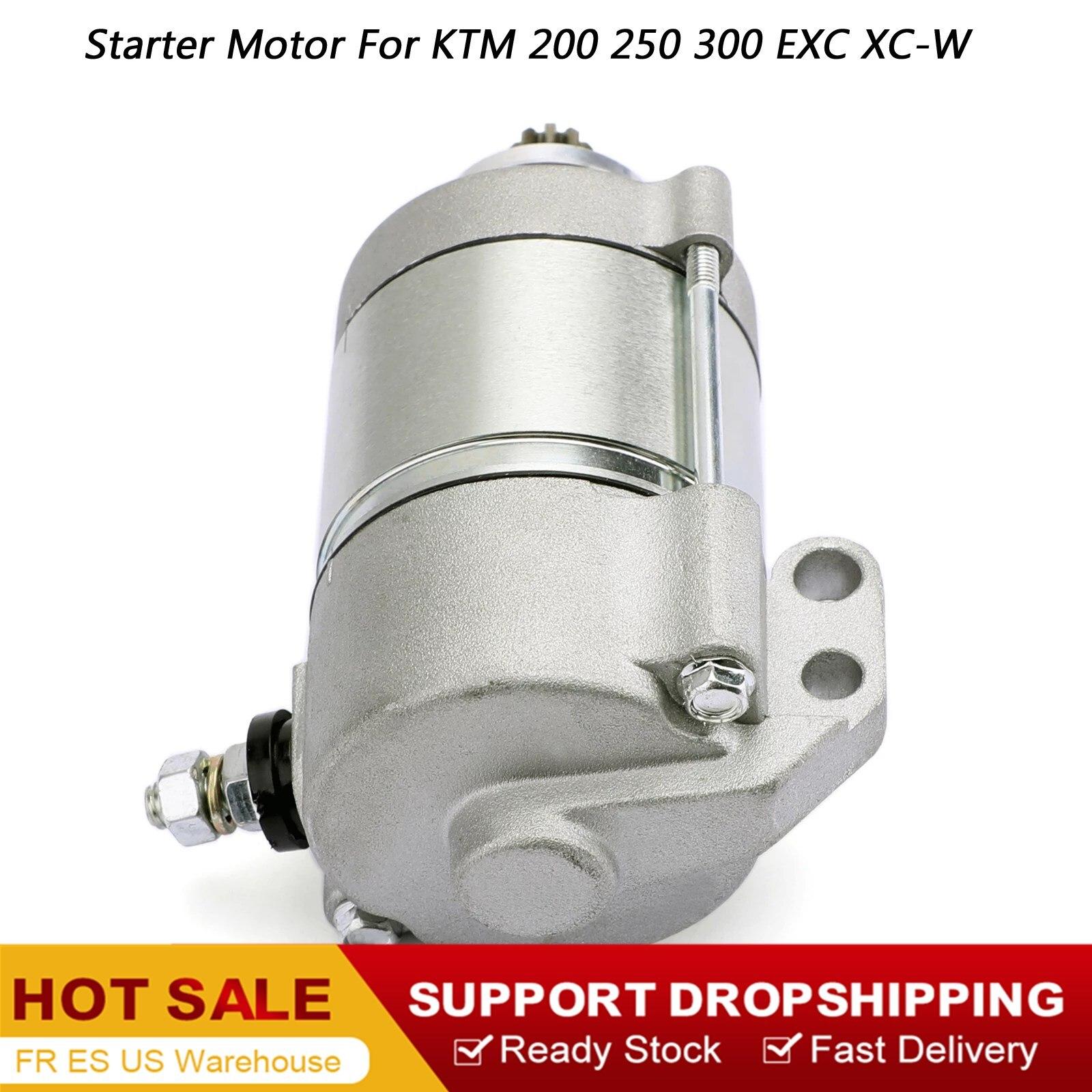 12V 410W Start motor Starter Motor 55140001100 55140001000 Für KTM 200 250 300 XC-W EXC EXC-E XC 2008-2012 2009 Motor Starter