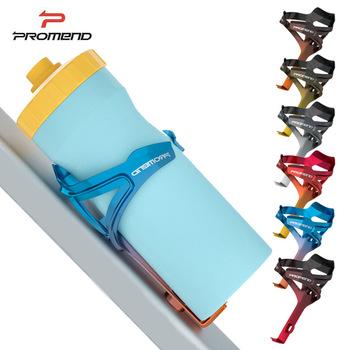 PROMEND Ultralight uchwyt na bidon rowerowy uchwyt na bidon rowerowy uchwyt na kubek rowerowy kratka na bidon rowerowy akcesoria rowerowe tanie i dobre opinie CN (pochodzenie) SJJ-25211 Mniej niż 75g PC Material About 29g About 150*85*95mm Good Toughness Colorful Colors Easy To Install