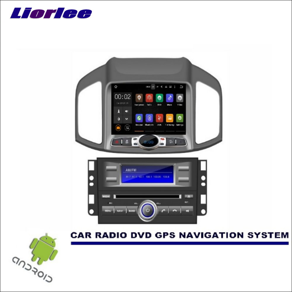 Liorlee Wince/Android Car Multimedia Navigation System For Chevrolet Captiva 2011-2016 CD DVD GPS Player Navi Radio Stereo HD