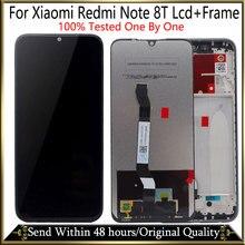 100% 新オリジナル + xiaomi redmi注 8 t lcdディスプレイタッチデジタイザースクリーン交換xiaomi redmi注 8 tディスプレイ