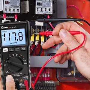 Image 2 - موستول MT108T الرقمية المتعدد 6000 التهم صحيح RMS NCV جهاز قياس درجة الحرارة مربع موجة الناتج الخلفية مقياس إلكتروني