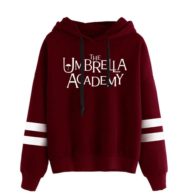 THE UMBRELLA ACADEMY THEMED STRIPED HOODIE