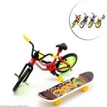1 шт. Забавный детский DIY сборка горный игрушечный мотоцикл с запасными шинами инструменты мини велосипед игрушка обучающая ручная работа палец игрушечный мотоцикл