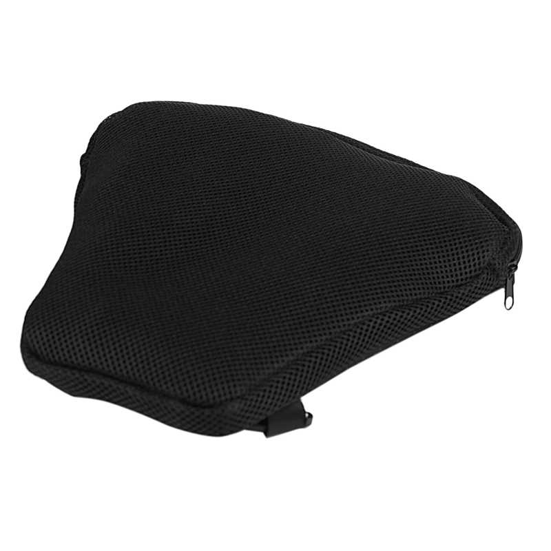 Elibeauty Motorcycle Air Seat Cushion Pain Relief Shock Absorption Multi-Cell Design Air Cushion Sports Travel Open-Mesh Side Panel Seat