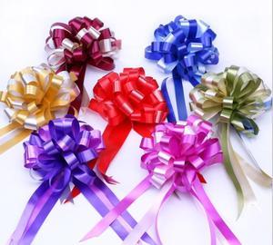 Cinta de lazo grande para Baby Shower de 14 colores, 50 Uds., decoración para fiesta de cumpleaños o boda, embalaje para puerta de coche, cintas de flores para Decoración