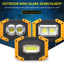 30W COB Work Lamp USB LED Portable Lantern Rechargable Waterproof 3-Mode Emergency Spotlight Floodlight for Camping Hike Outdoor