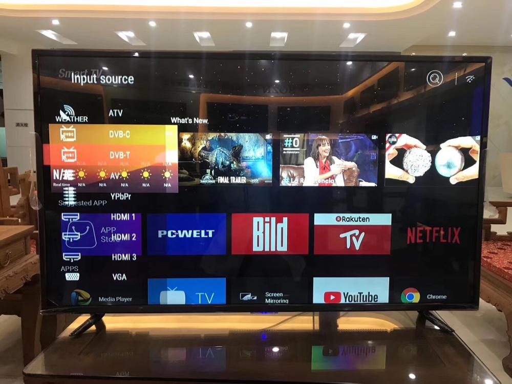 HD monitor display 1920 1080p 32 43 55 inch android smart led television T2 global version Innrech Market.com