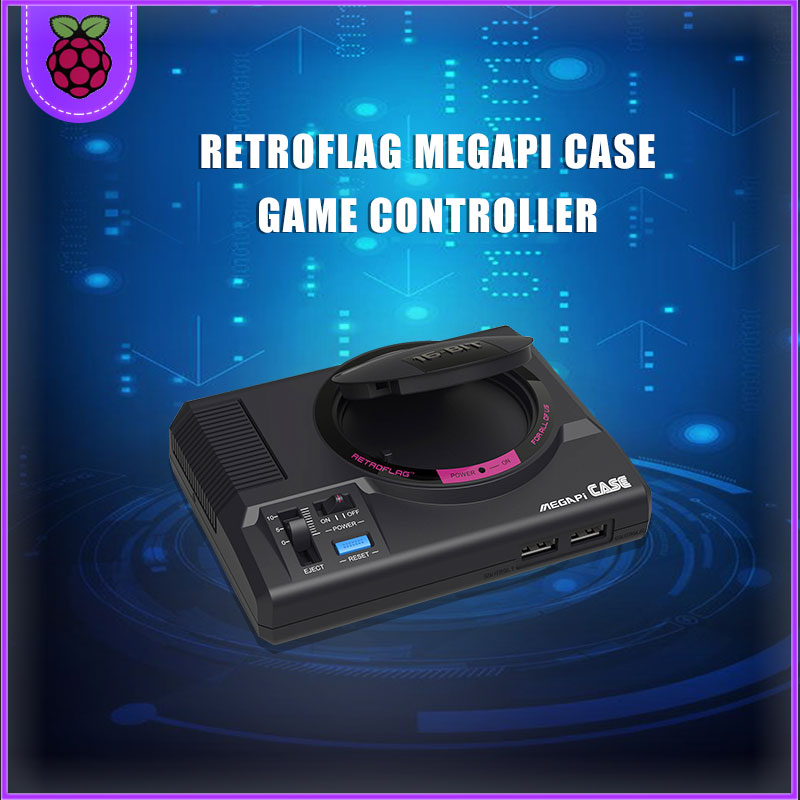 Retroflag Original MEGAPi CaseWith Raspberry Pi 3B TV Game Player Consoles Support HDMI Out Play And Plug