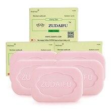 5/10 pces zudaifu tratamento de sabão de enxofre psoríase eczema pele casca limpador óleo controle anti fungo branqueamento sabonetes remover acne