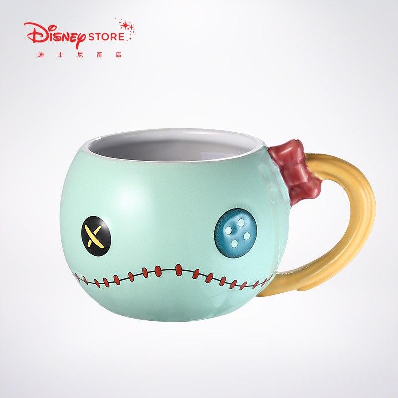 500ml Disney Star Baby Little Gold Stereo Mug Water Cup Large Capacity Ceramic Cup Coffee Milk Tea Breakfast Cups