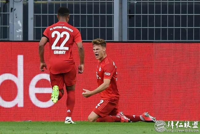 德甲第28轮 多特0:1拜仁 基米希神仙球赢下国家德比9