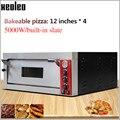 XEOLEO Pizza ofen maschine Bäckerei ofen Elektrische backofen Kommerziellen Einzigen Schicht Brot/Kuchen/Ei torte Öfen 5000W 220/380V|Öfen|   -