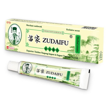 1pc Zudaifu Dermatitis Cream Skin Psoriasis Cream Dermatitis Eczematoid Eczema Ointment Treatment Psoriasis Cream Health Care 5pcs zudaifu herbal cream body facial skin care anti bacterial cream psoriasis ointment