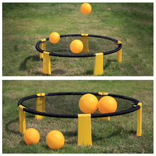 Portable Beach Volleyball Team Ball Game Set Outdoor Team Sports Home Garden Lawn Fitness Equipment With 3 Balls Volleyball Net