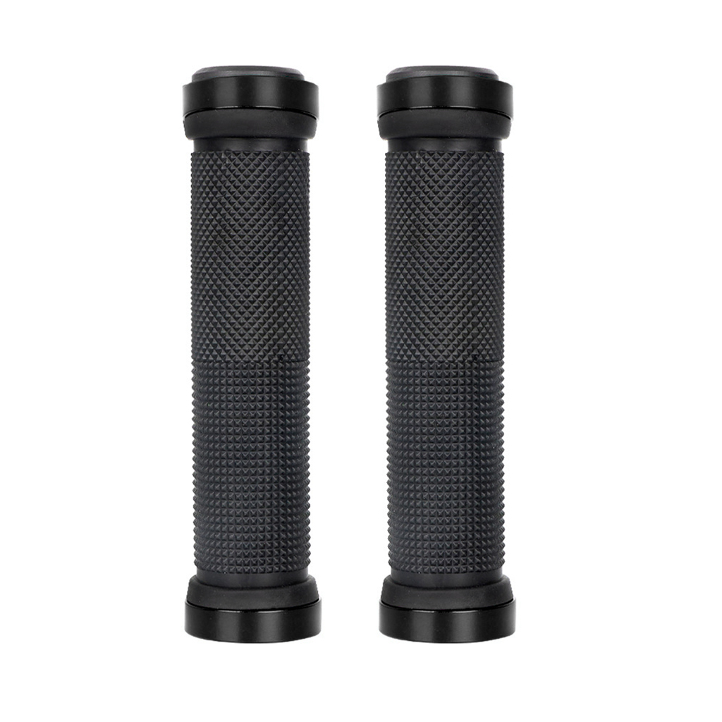 1 Pair Bicycle Double Lock MTB Cycling Handle Bar Grips Hand Cover Anti-slip Bicycle Handlebar Grips Bike Accessories