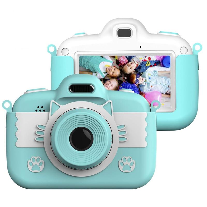 Mini Children Camera Kids Toy Camera 3.0'' Full HD Digital Camera With Silicone Children's intellectual toys ,children's gifts