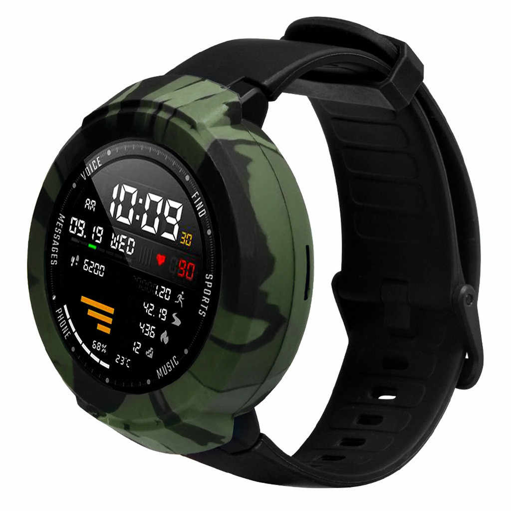 Cho Đeo Thiết Bị Mềm TPU Full Bao Vỏ Bảo Vệ Cho Huami AMAZFIT Đang Đứng Bên Bờ Vực Thanh Niên Đồng Hồ Mua Đồng Hồ Thông Minh Smartwatch