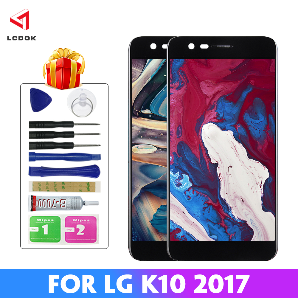 100% Tested LCD For <font><b>LG</b></font> K10 2017 <font><b>K20</b></font> <font><b>Plus</b></font> M250 M250N M250E LCD Display Touch <font><b>Screen</b></font> Digitizer Assembly Panel <font><b>Replacement</b></font> Parts image
