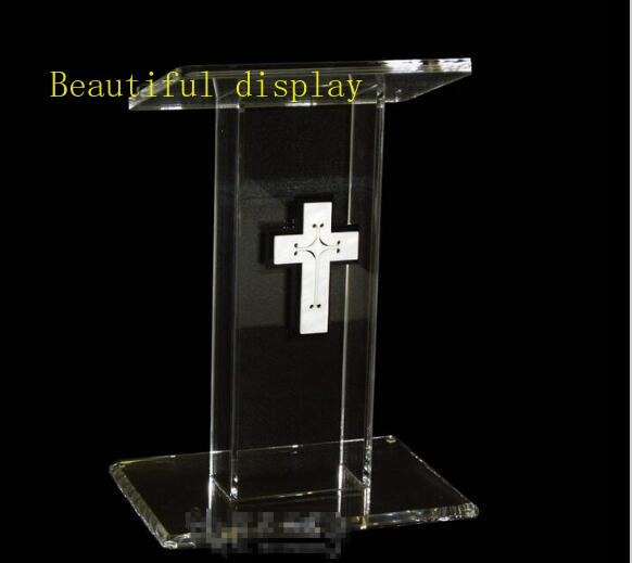Free Shipping Modern Acrylic Hot Sale Publipt , Acrylic Pulpit, Modern And Stylish 2016 Acrylic Pulpit Church