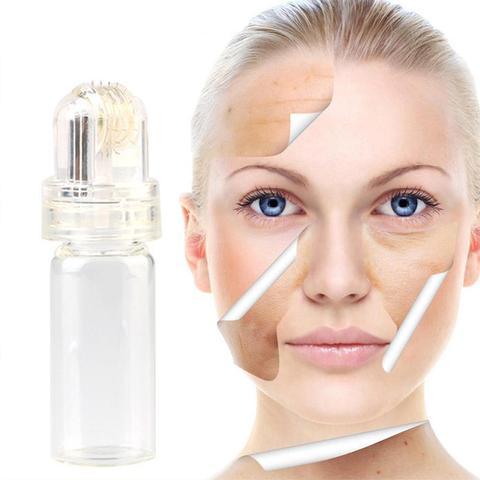Dr.pen 64 Pin Micro Needle Titanium needle Hydra Roller Hyaluronic Acid Anti Wrinkle Acne Reduce Pore Tighten Whiten Skin Care Multan