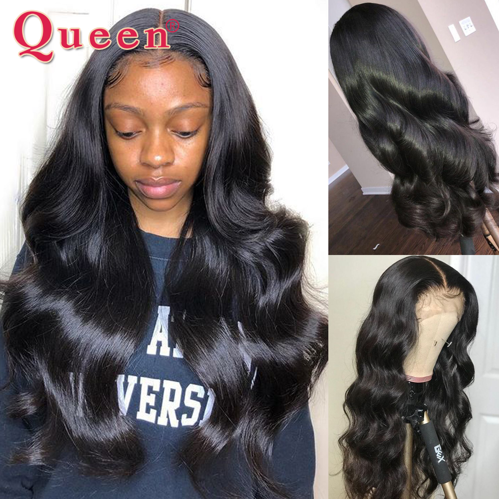 360 Lace Frontal Wig For Black Women Body Wave Lace Frontal Human Hair Wigs Brazilian Swiss Lace Human Hair Wigs QUEEN HAIR