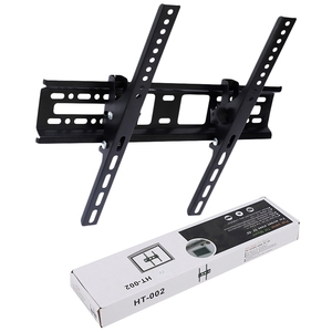 Hot 3C-Universal Lcd Led Tv Wall Bounted Brackets 30Kg Steel 400X400Mm 15° Tilt Wall Mount For 32 46 42 50 55 inch Monitor TV Wa(China)