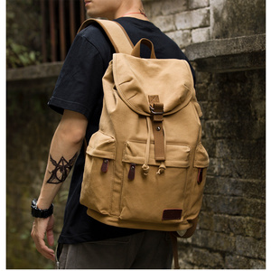 TANGHAO Canvas Backpack Unisex