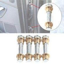 Car Door Hinge Pins Bushing Repair Assembly Kit Set for Nissan Navarra 97-05 D22 High Strength Corrosion-resistant