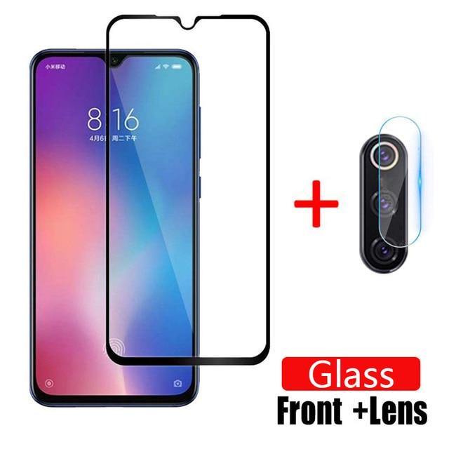Protector de cristal templado para Xiaomi Mi 9 SE, Protector de pantalla de cristal para cámara Xaomi 9se mi9, 1 2 Uds.